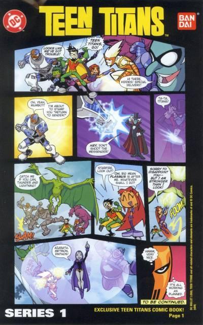Teen Titans Go! Action Figure Comic