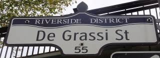 De Grassi Street Sign