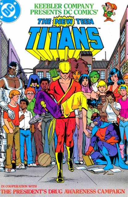 The New Teen Titans (Drug Abuse Awareness)