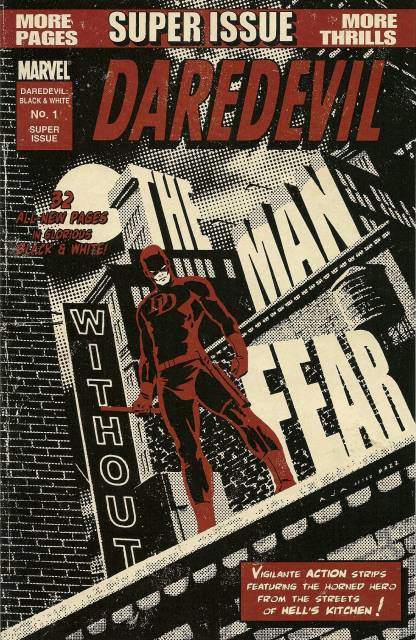 Daredevil Black & White