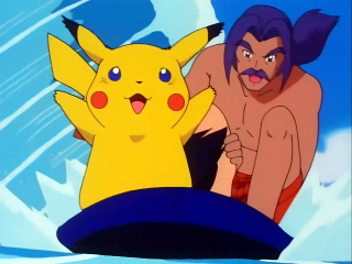 Victor and Puka from 'The Pi-Kahuna'