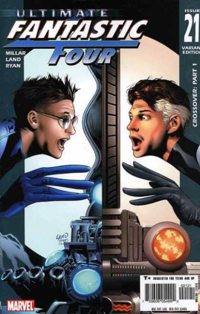 Ultimate Fantastic Four-Reed Richards of Earth 1610 Meets The Reed Richards of Earth 616
