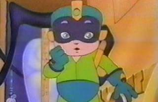 Mega Man from Captain N - The Game Master