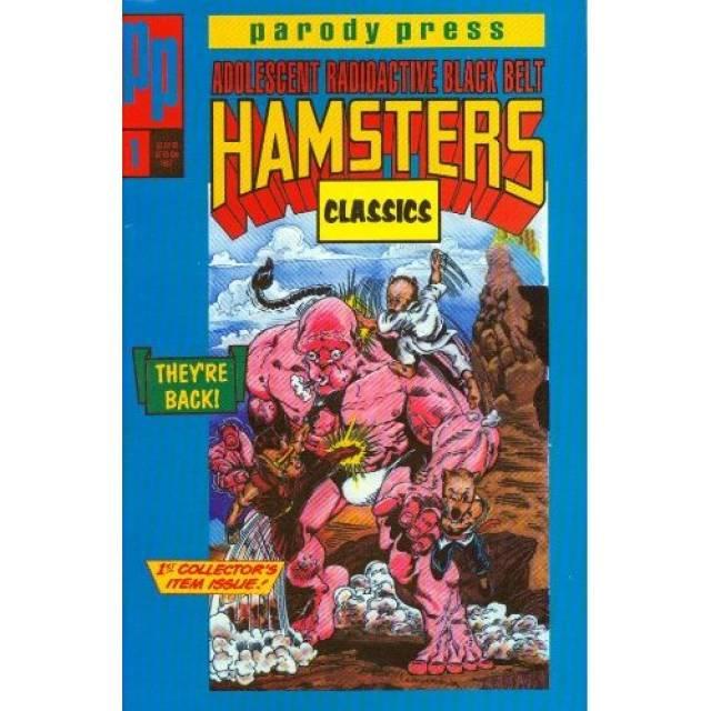 Adolescent Radioactive Black Belt Hamsters