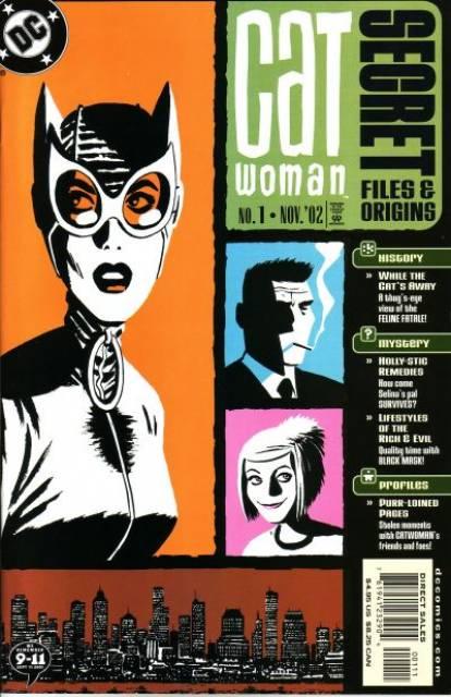Catwoman Secret Files And Origins