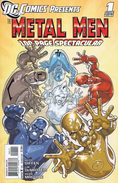 DC Comics Presents: Metal Men