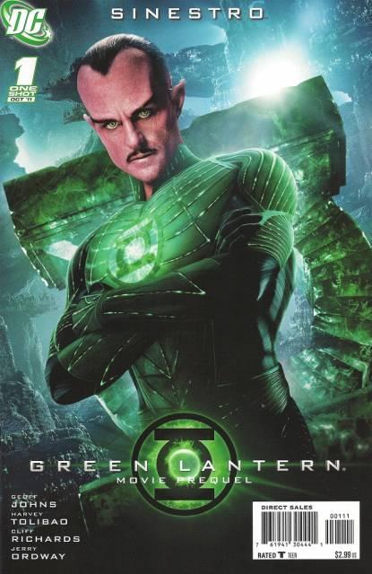 Green Lantern Movie Prequel Sinestro