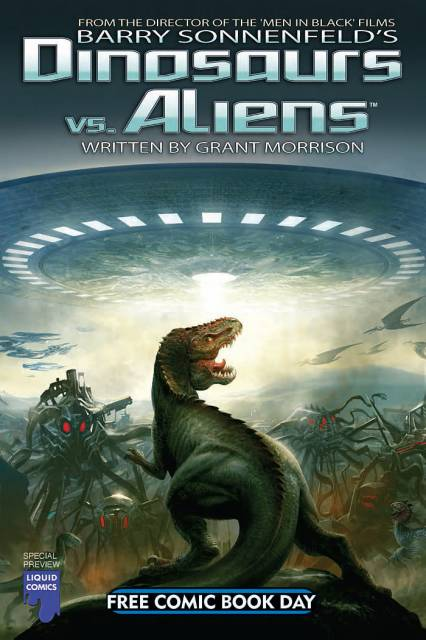 Dinosaurs vs. Aliens - Free Comic Book Day Special Preview