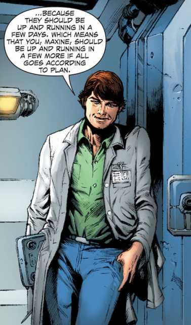 New 52 - Dr Henshaw