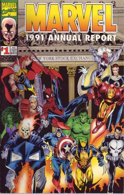 Marvel Annual Report