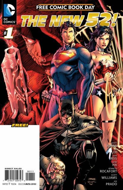 DC Comics - The New 52 FCBD Special Edition