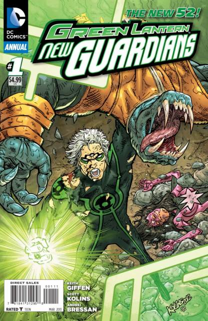 Green Lantern: New Guardians Annual