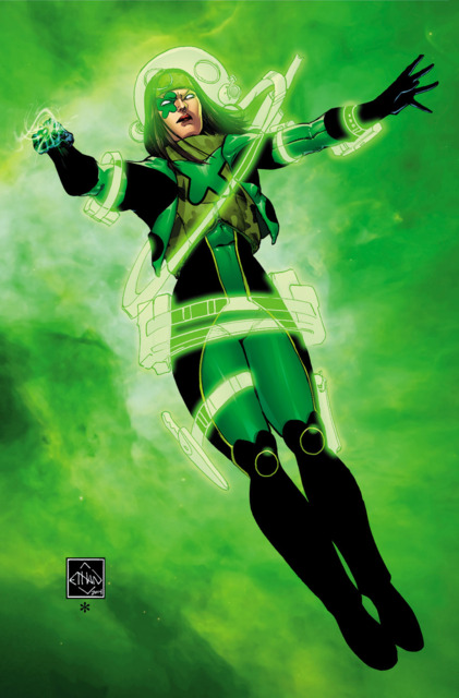 Jessica as Power Ring