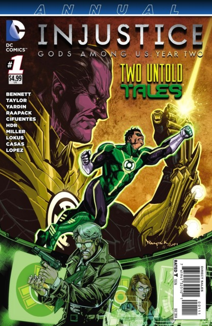 Injustice: Gods Among Us Year Two Annual