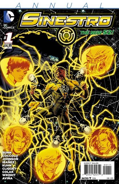 Sinestro Annual