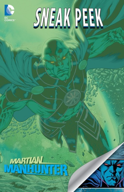 DC Sneak Peek: Martian Manhunter