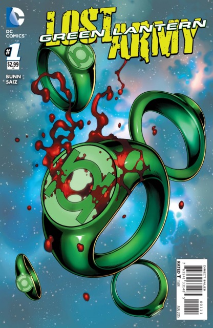 Green Lantern: The Lost Army