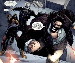Bloodscream & Roughouse working for HYDRA.