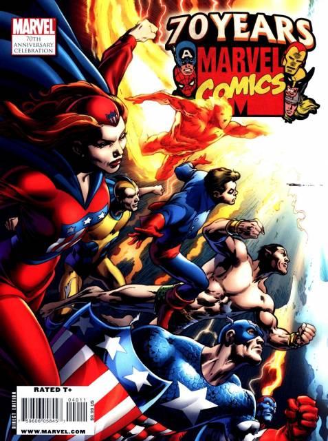 Marvel Comics 70th Anniversary Celebration Magazine
