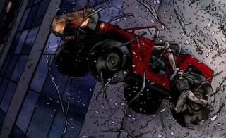 Spider-Mobile in Old Man Logan