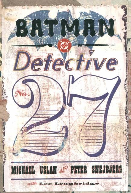 Batman: Detective #27