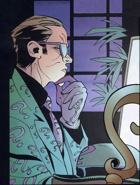 Riddler as a private investigator