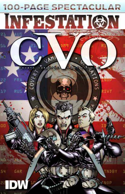 CVO: Covert Vampiric Operations - 100-Page Spectacular
