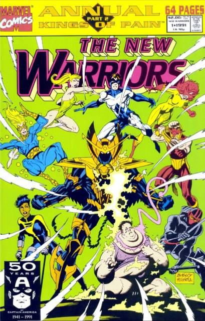 The New Warriors Annual