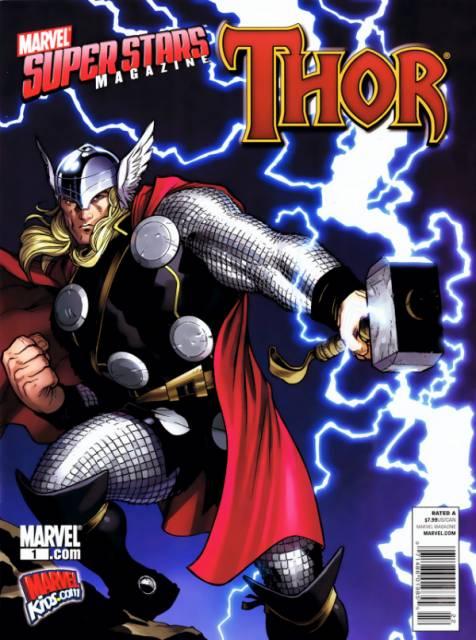 Marvel Super Stars Magazine