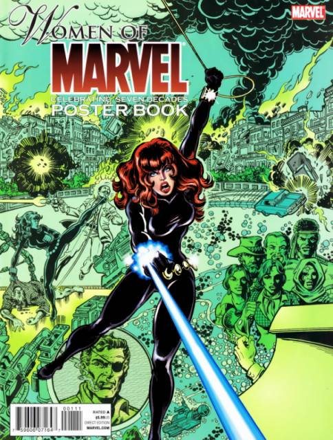 Women of Marvel: Celebrating Seven Decades Poster Book