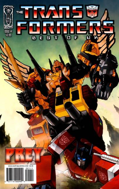Transformers: Best of UK: Prey