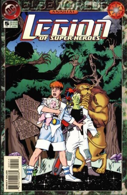 Legion of Super-Heroes Annual #5