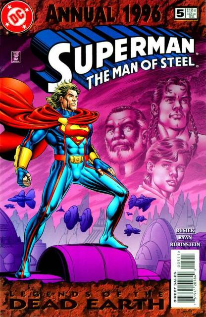 Superman The Man of Steel Annual #5