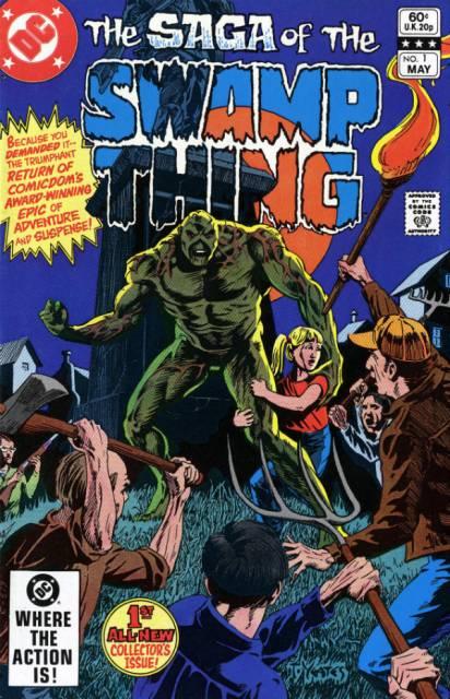 The Saga of Swamp Thing