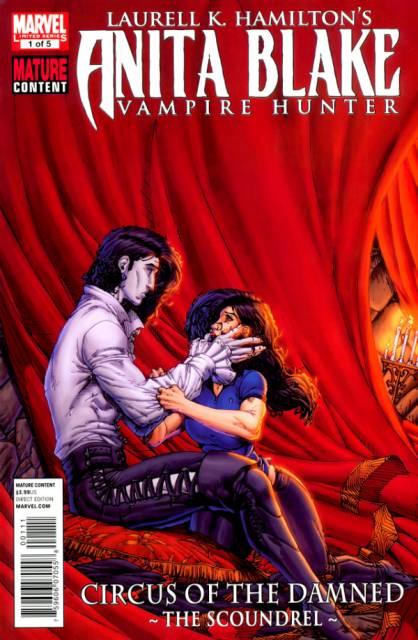 Anita Blake, Vampire Hunter: Circus of the Damned - The Scoundrel
