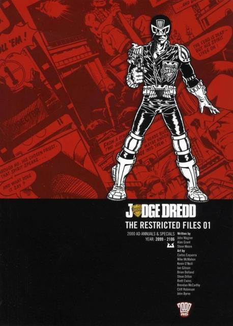 Judge Dredd: The Restricted Files