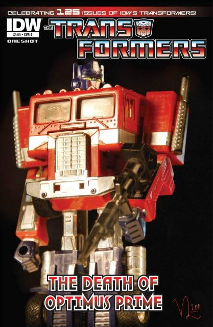 The Transformers: The Death of Optimus Prime