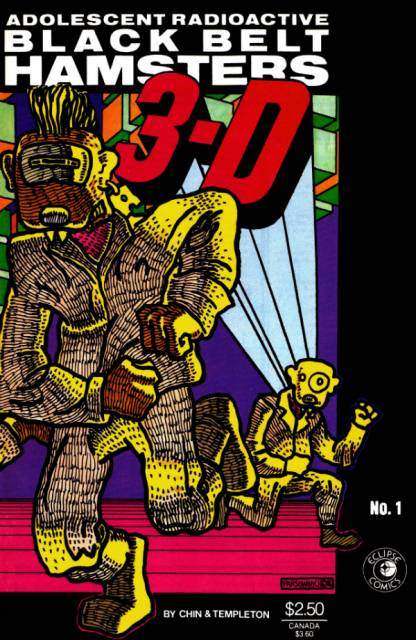 Adolescent Radioactive Black Belt Hamsters 3-D