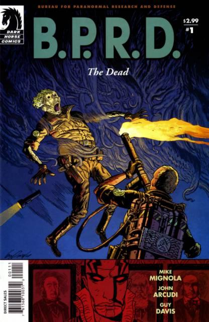 B.P.R.D.: The Dead