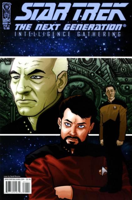 Star Trek: The Next Generation: Intelligence Gathering