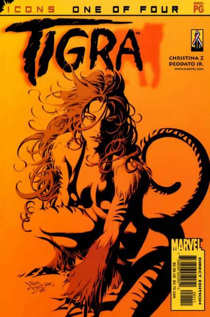 Avengers Icons: Tigra