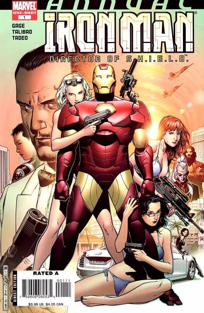 Iron Man: Director of S.H.I.E.L.D. Annual