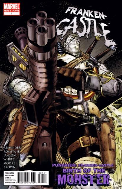 Punisher: Franken-Castle - Birth of the Monster