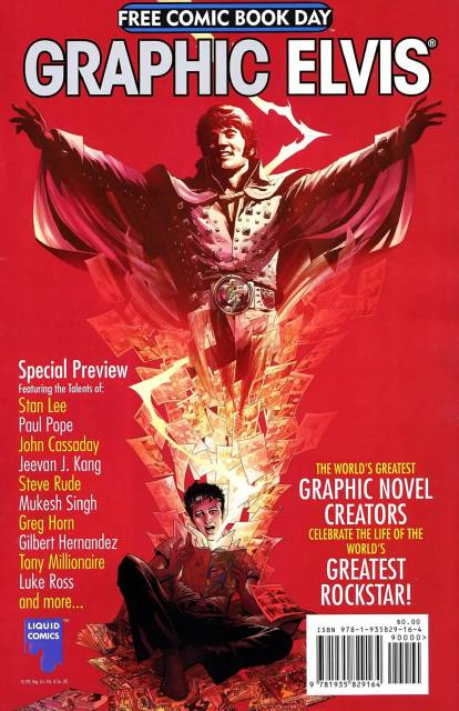 Graphic Elvis: Free Comic Book Day Special Preview