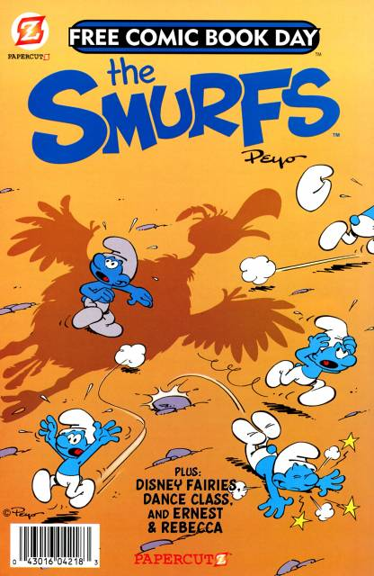 The Smurfs and Disney Fairies, A Free Comic Book Day Comic Book