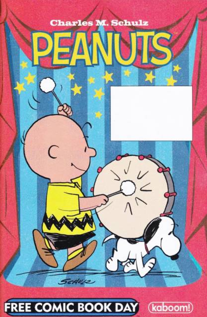 Peanuts / Adventure Time Free Comic Book Day Edition