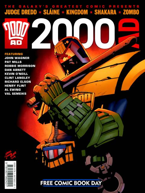 2000 AD Free Comic Book Day (FCBD)
