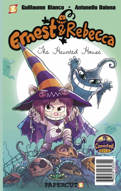 Ernest & Rebecca: The Haunted House Mini Comic