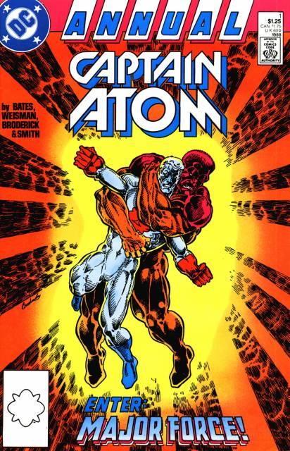 Captain Atom Annual
