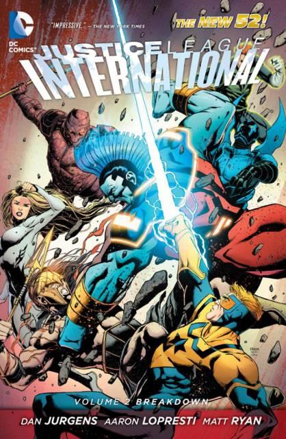 Justice League International: Breakdown